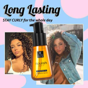 Super Curl Defining Booster Hair Fixing Hair Care Essence Treatment  Oil