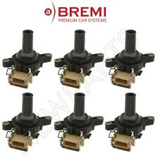For BMW E46 3-Series Set of 6 Ignition Coils By Bremi OEM 12137599219 NEW