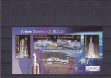 ASCENSION ISLAND MNH STAMP SHEET 2003 ARIANE DOWNRANGE STATION SG MS871
