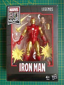 "Hasbro Marvel Legends Series 80th Anniversary: Iron Man 6"" Figurine"