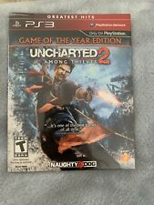 New Playstation 3 PS3 Game Uncharted Among Thieves 2 Game Of The Year Edition