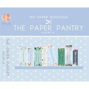 The Paper Boutique Paper Pantry Vol 3 – USB Collection - Mixed Colours