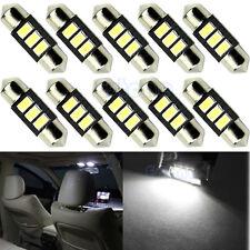 10pc 31mm 3-LED 5730 SMD C5W DE3175 DE3021 CANBUS Error Free Bulb Interior Light