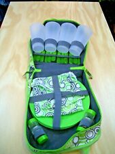 Vintage / Retro 4 person OutdoorPlus picnic set - Sell for Charity