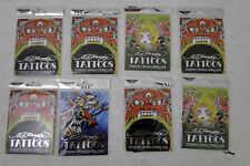 8 PAcks assorted Ed Hardy Trading Card / Tatto packs