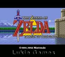 Legend Of Zelda Link To The Past - SNES Super Nintendo