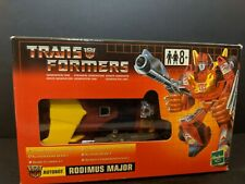 Rodimus Major TRU w/box Commemorative Reissue Transformers