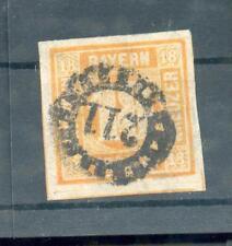 Baviera 7 SEZIONE REGISTRAZIONE timbrato (R9817