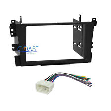 Car Radio Stereo Double Din Dash Kit Wire Harness for 1999-2003 Acura TL CL