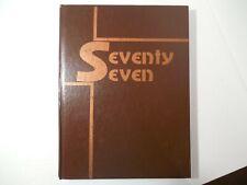 "Yearbook, Sandy Union High School, Sandy Oregon, ""Mee Ma"", 1977, Brenda Strong"
