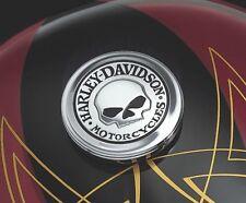 Medallón para el casquillo Depósito Willie G Skull Orig. Harley Davidson