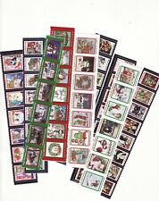 2010-2018 U.S. National Christmas Seal Collection, As Required