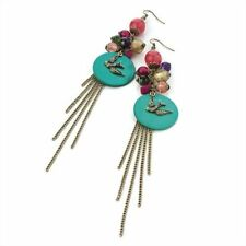Unbranded Hook Turquoise Alloy Costume Earrings
