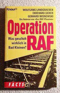 Operation Raf Was geschah wirklich in Bad Kleinen? Facts Taschenbuch Knaur Buch
