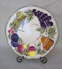 "TABLETOP GALLERY 9"" Salad/Desert Plate ""FRANCESCA"" pattern Fruit Ring 1 Piece"