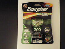ENERGIZER VISION HD+ HEADLIGHT 200 lumens,dimmable,night vision Brand new