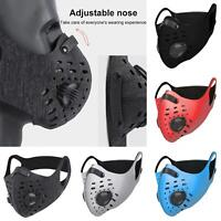 Reusable Outdoor Air Purifying Face Filter Mask Face Cover Haze Fog Mouth Mask