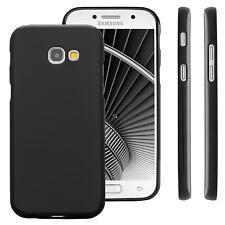 Custodia per Samsung Galaxy A5 (2017) Cover Protettiva Morbida Case Silicone Ner