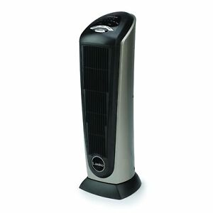 Lasko 751320 Ceramic Tower Heater with Remote Control Tall Timer Temp Control