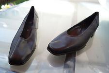 schicke ARA Damen Comfort Schuhe Pumps Leder bequem Gr.7 H 41 schwarz NEU