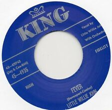 LITTLE WILLIE JOHN    FEVER / UH UH BABY(No No Baby)  KING Re-Issue/Re-Pro  R&B