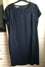 Black Short Sleeved Dress Size 20 Laura ashley