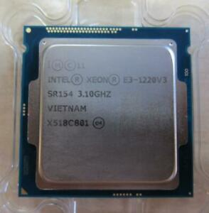 Intel Xeon E3-1220V3 SR154 3,10GHz LGA1150