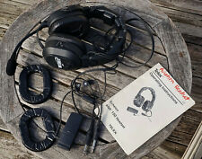 TELEX Echelon Noise Cancelling ANR 150 Aviation Pilot Headset w/ Manual
