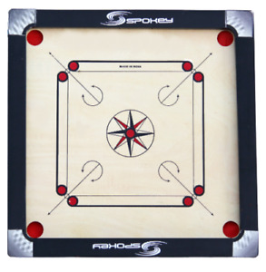 27 Inch Spokey Carrom Board with Free 24 Coins,1 Striker+Powder Free Shipping