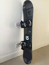 New listing Burton Process Smalls Kids 134cm Snowboard, Burton Custom Bindings & Stomp Pad