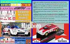 ANEXO DECAL 1/43 LANCIA STRATOS HF S. MUNARI TOUR DE CORSE 1974 MARLBORO (01)