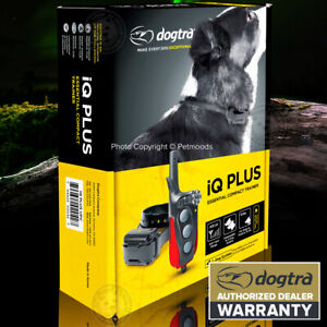 Dogtra iQ-PLUS Remote Trainer Dog Training Collar 400-Yard Expandable Waterproof
