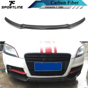 Carbon Frontspoiler Frontlippe Frontansatz Turning für AUDI TT 13-14 TTS 08-13