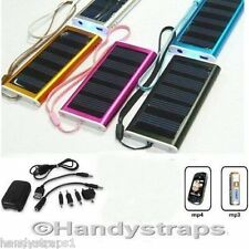 Solar Charger For Camera, MP3 Player, MP4 Player LY-G1001 Silver (no micro usb)