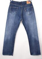 Levi's Strauss & Co Hommes 501 Jeans Jambe Droite Taille W36 L34 BBZ402