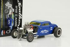 1934 Blown Altered Coupé Southern Speed & marine bleu 1:18 GMP NEUF