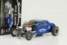 1934 Blown altered COUPE Southern Speed & Blu Marina 1:18 GMP NUOVO