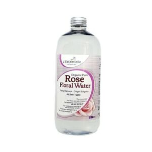 Organic Pure Rose Water 500ml Refill Bottle Hydrosol