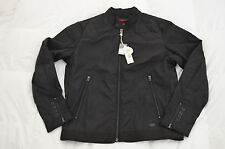 Authentic Diesel J-Hollis Mens Motorcycle Nylon Black Jacket Size XL
