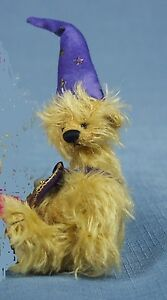 "DEB CANHAM  ""TRICKY"" FROM BAD HAIR DAY COLLECTION MINIATURE MOHAIR BEAR"