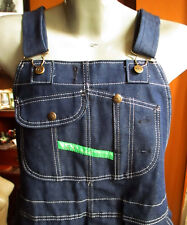 NEW 42x32 KEY IMPERIAL Vtg 90s work trousers bibs overalls dungarees chore pants
