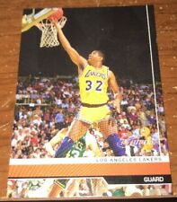 2007 MAGIC JOHNSON TOPPS THE FINALS PROMO INSERT CARD#MJ MINT
