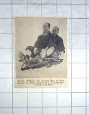 1939 Racing Motorist Mr Raymond Mays , Wing Commander Lester On Bobsleigh