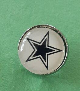 """Dallas Cowboys NFL Football New Pin ½"""""""
