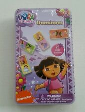 Dora The Explorer - Dominoes Game In Collectable Tin
