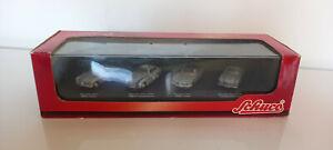 ancien  Coffret  4  voitures MERCEDES  BENZ    SCHUCO     ech 1/72  neuf