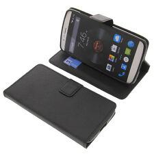 Tasche für Elephone P8000 Smartphone BookStyle Schutzhülle Handytasche Schwarz