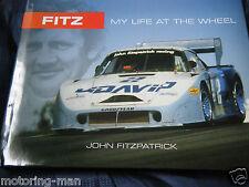 JOHN FITZPATRICK SIGNED PORSCHE 956 962 935 KREMER JDAVID K3 GOERG LOOS MY LIFE