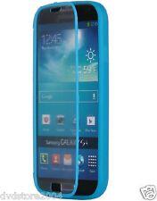 Custodia WALLET Cover AZZURRA FRONTE TRASPARENTE per Samsung I9300 Galaxy S3