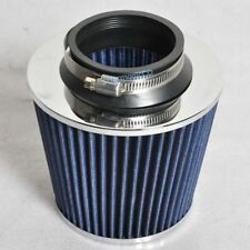 Fits 3 Inches Race Performance Cold Blue Air Intake Cone Filter Universal
